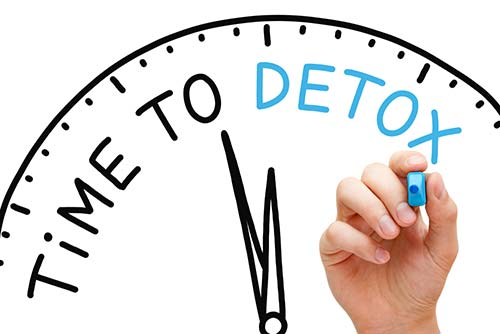 hand drawing a clock set to time to detox - alcohol withdrawal symptoms - how to know if your client needs alcohol detoxification - valley recovery center of california - sacramento alcohol addiction treatment and alcohol detox center