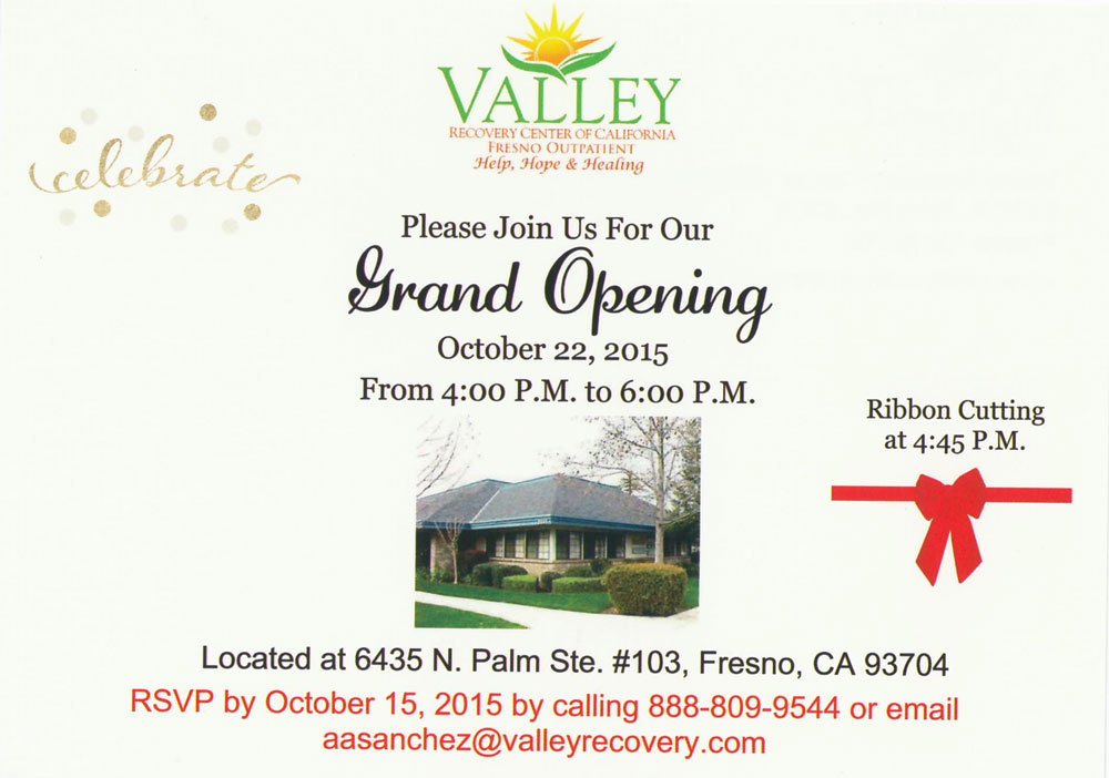 Valley Recovery Center of California - Fresno Outpatient - Drug and alcohol addiction IOP and PHP in Fresno, California