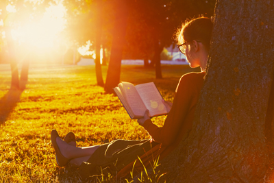 life after drug addiction rehab - woman reading a book - valley recovery center