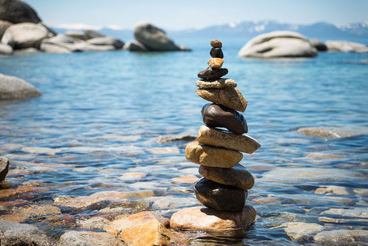 meditation rocks - valley recovery center - addiction treatment center - alcohol rehab - drug rehab - intensive outpatient treatment for drug and alcohol addiction