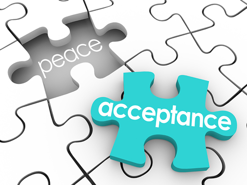 The Spiritual Principle of Acceptance - acceptance peace puzzle