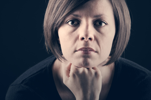 How to Know if Your Loved One Has an Addiction - depressed woman - valley recovery center