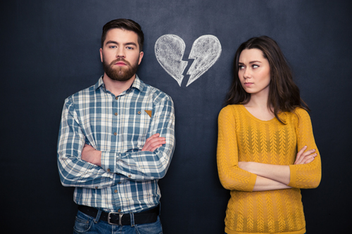 Relationships in Recovery: What Causes Codependency? - couple arguing - valley recovery center