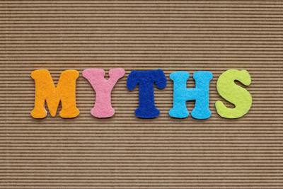 Top 10 Myths of Why People Become Addicts - myths word