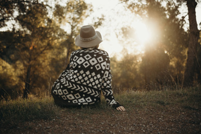 What to Expect in Your First Year of Sobriety - woman watching sunset
