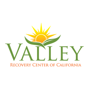 Valley Recovery Center of California logo with sun